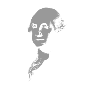 George Washington Imprint (Grey)