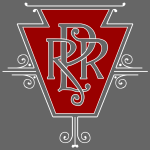 Vintage Pennsylvania Railroad Logo (for dark shirt