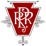 Vintage Pennsylvania Railroad Logo (for light shir