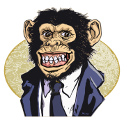 Chimp Suit Tie