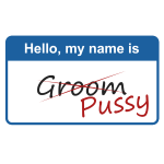 Hello my name is Groom