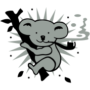 Koala-I smoke only eucalyptus