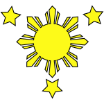 3stars_and_sun (Vector)