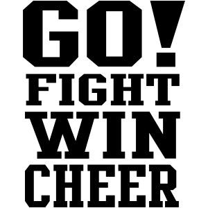 go fight win cheer