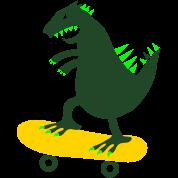 skateboarding godzilla skate surf funny