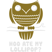 Owl - Hoo Ate My Lollipop