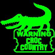 aligator crocodile warning croc
