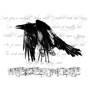 The Raven - light bg text