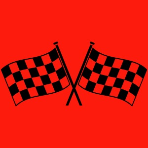 two checkered flags RACING MOTOR SPORTS