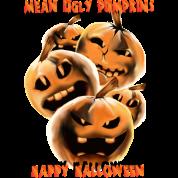 Mean and Rotten Halloween Pumpkins