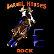 Barrel Horses Rock