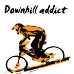 downhill_addict_two_colors