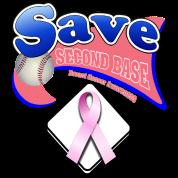 Save Second Base Plate Pink Ribbon