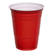 Red Plastic Party Cup