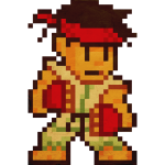 Pixelfighter Karateka