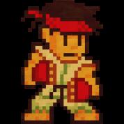 Pixelfighter Karateka