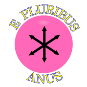Community Flag E Pluribus Anus
