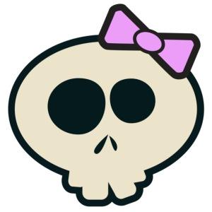 Cute Skull Lavender