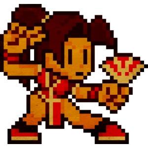 Pixelfighter ButterflyfanGirl