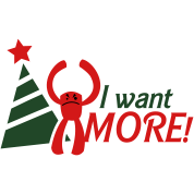 I WANT MORE monster i hate christmas