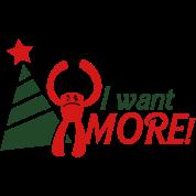 I WANT MORE monster i hate christmas