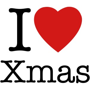 I Love Christmas.I Love Christmas T Shirt Women S T Shirt