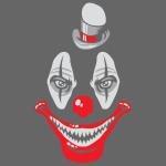 Naughty clown