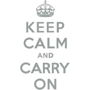 Keep Calm and Carry On (vector)