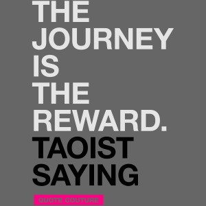 The journey is the reward (men -- bags -- big)