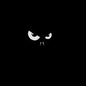 i´m bad rabbit bunny bunnies hare jackass eye evil gaze look