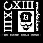 CXIII x 2 skull design