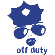 off duty police woman face