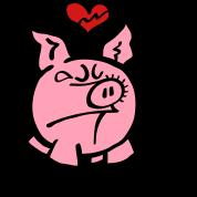Broken Hearted Pig