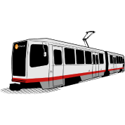 J Church - San Francisco Muni Train
