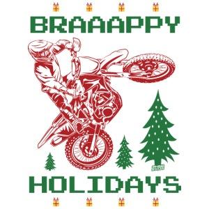 Motocross Ugly Christmas