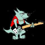 Guitar Dog