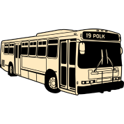 19 Polk Muni Bus