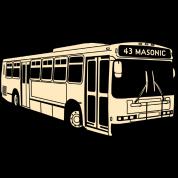43 Masonic Muni Bus