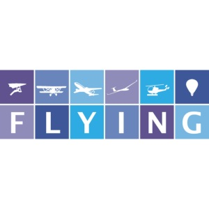 Flying in Blue Colors for Dark Color T-shirt