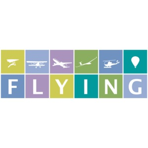 Flying in Blue/Green Colors