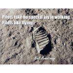 Pilots Take No Joy In Walking