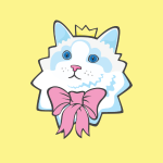 Prince Purrrfect Badges