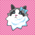 Cutie Cat Kawaii Badges