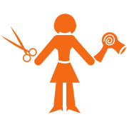 woman hairdresser hair stylist