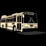 14 Mission Muni Bus