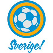 Football crest of Sweden