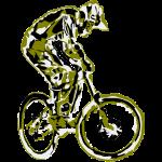 MTB Rider Dirt Jump