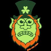 St Paddy's Day Stressed Leprechaun
