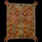 Lindisfarne Gospels: Cross-carpet page introducing Saint Jerome's letter to Pope Damasus.