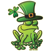 Saint Patrick's Day Frog